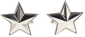 Givenchy Silver Metal Cufflinks