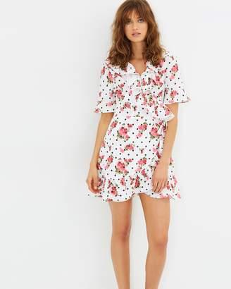 Living Doll Garden Party Wrap Dress