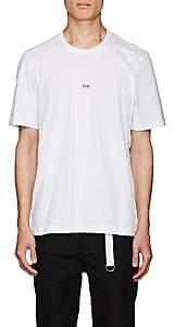 """Helmut Lang Men's """"Taxi"""" Cotton T-Shirt - White"""
