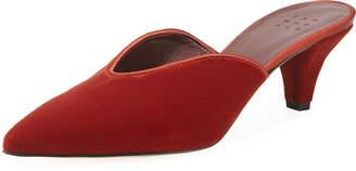 Trademark Ruby Velvet Pointed Mules