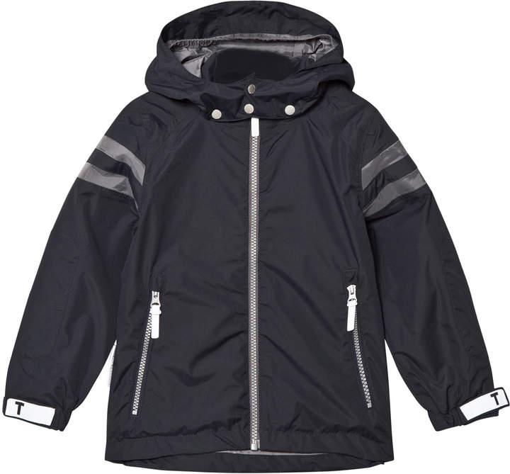 Total Eclipse Blue Noland Jacket With Detachable Hood