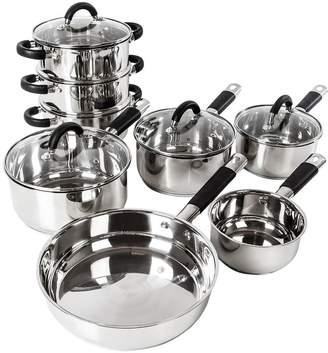 Tower Essentials 8-Piece Stainless Steel Pan Set