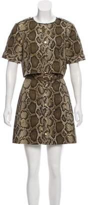 MICHAEL Michael Kors Animal Printed Mini Dress