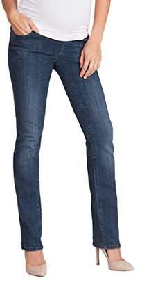 Seraphine セラフィン マタニティパンツ Tyra プレミアムオーバーバンプストレートレッグマタニティジーンズ イギリスサイズ16 ブルーウォッシュ