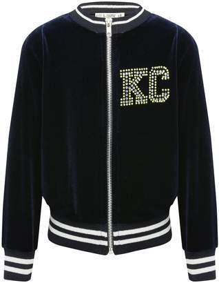M&Co Velvet bomber jacket