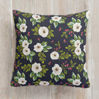 Vintage Flower Delight Self-Launch Square Pillows