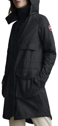 Canada Goose Calvary Trench Coat w/ Detachable Hood