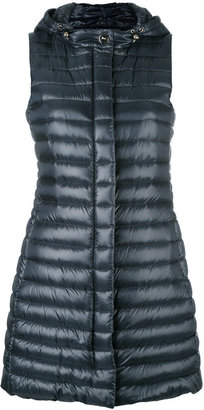 Herno padded gilet $570 thestylecure.com