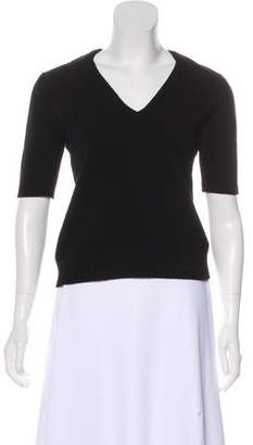 Clements Ribeiro Cashmere Three-Quarter Sleeve Top