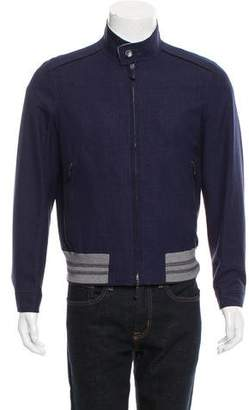 Tom Ford Reversible Wool Bomber Jacket