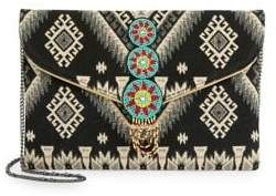 Design Lab Beaded Convertible Clutch