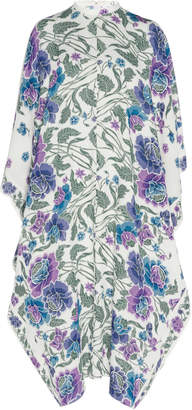 Andrew Gn Silk Printed Dress Size: 42