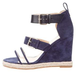 Ritch Erani NYFC Suede Espadrille Wedge Sandals w/ Tags