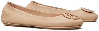Tory Burch MINNIE TRAVEL BALLET FLAT, LEATHER