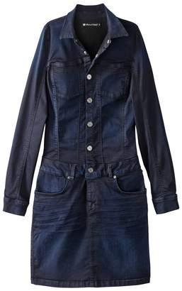 Freeman T. Porter Bodycon Denim Shirt Dress