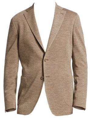 Saks Fifth Avenue COLLECTION Classic-Fit Knit Wool Sportcoat