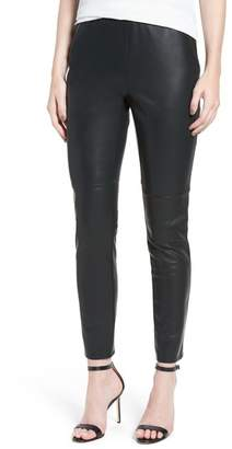 Cupcakes And Cashmere Liliana Faux Leather Leggings