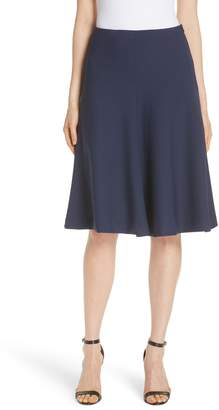 Milly Stretch Crepe Bell Skirt