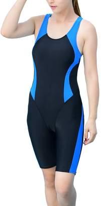 Express ED ED Women's Slimming One Piece Swimsuits Boyleg Sports Swimwear