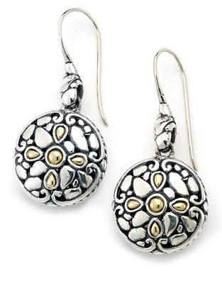 Samuel B Jewelry Sterling Silver Pebble Drop Earrings