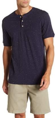 Weatherproof Short Sleeve Knit Henley