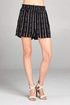 Paper Crane Stripe Shorts
