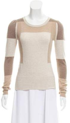 Marc by Marc Jacobs Colorblock Crew Neck Sweater