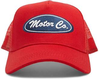 Forever 21 Motor Co. Graphic Trucker Hat