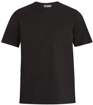 Kilgour - Patch Pocket Cotton Piquè T Shirt - Mens - Black