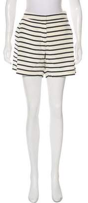 Sophie Hulme Mid-Rise Silk Shorts