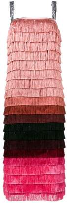 Marco De Vincenzo fringed dress
