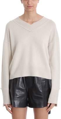 Helmut Lang High V Neck Sweater