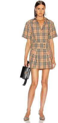 Burberry Jayniie Dress in Archive Beige   FWRD
