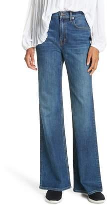 Vince Wide Flare Leg Jeans