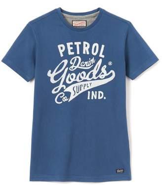 PETROL INDUSTRIES Short-Sleeved Crew Neck T-Shirt, 8-16 Years