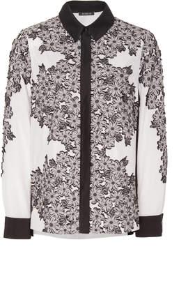 Lee Mi Jong High-Low Button Down Shirt