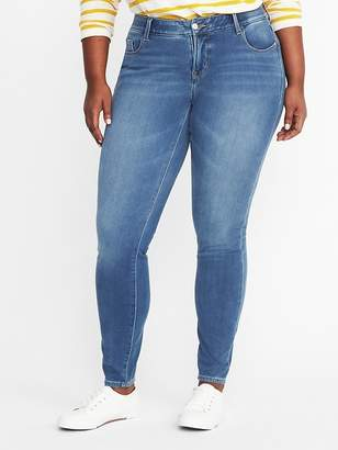 Old Navy High-Rise Secret-Slim Pockets + Waistband Rockstar 24/7 Plus-Size Jeans