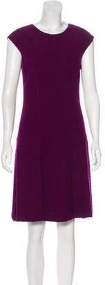 Oscar de la Renta Wool Mini Dress