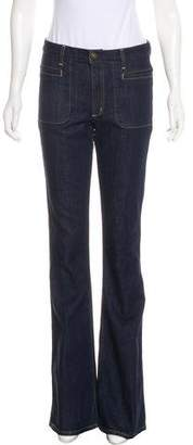 Theory Mid-Rise Flared Jeans w/ Tags
