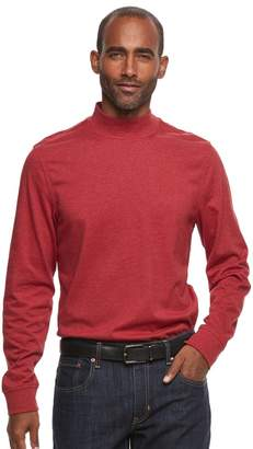 Croft & Barrow Men's Classic-Fit Stretch Mockneck Pullover