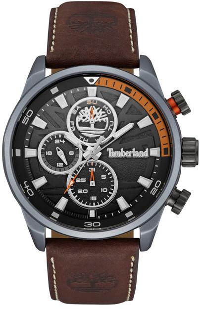 TimberlandTimberland Men&s Henniker II Chronograph Leather Watch