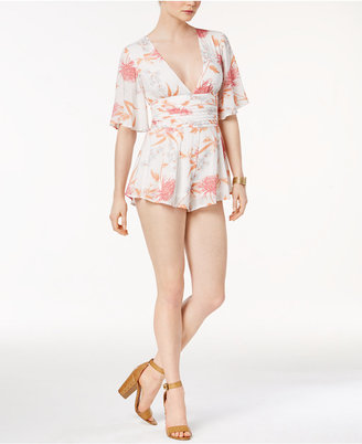 Minkpink Day Dreamer Kimono Romper $99 thestylecure.com