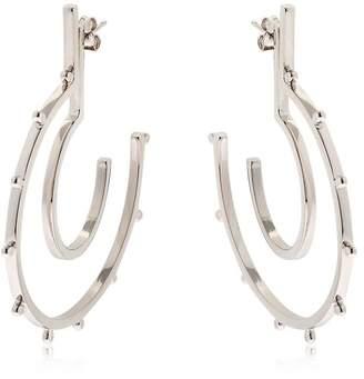 Moutton Collet Stardust Silver Earrings