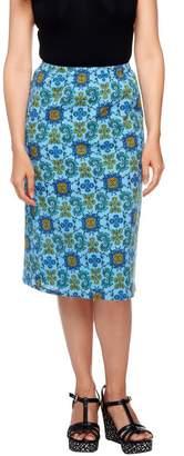 Liz Claiborne New York Pull-On Fully Lined Gauze Skirt