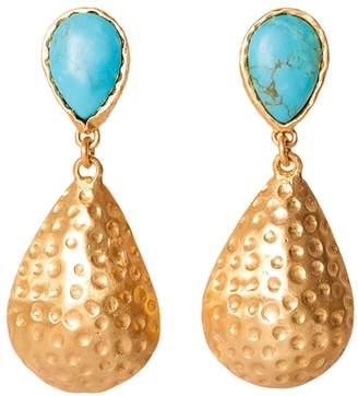Christina Greene - Calypso Earrings in Turquoise
