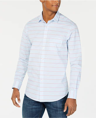 Club Room Men's Horizontal Stripe Shirt
