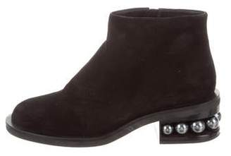 Nicholas Kirkwood Embellished Ankle Boots