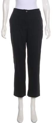 Aquascutum London Mid-Rise Wide-Leg Pants