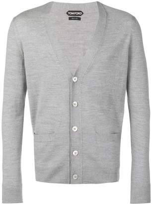 Tom Ford long-sleeve fitted cardigan