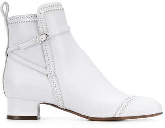 L'Autre Chose side buckle ankle boots